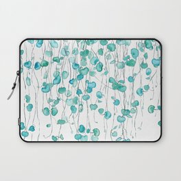 string of hearts watercolor Laptop Sleeve