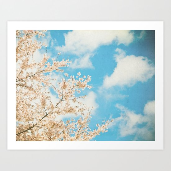 Cotton Candy Pink Art Print