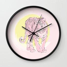 Sunny Tiger Wall Clock