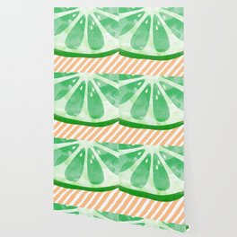 Lime Abstract Wallpaper