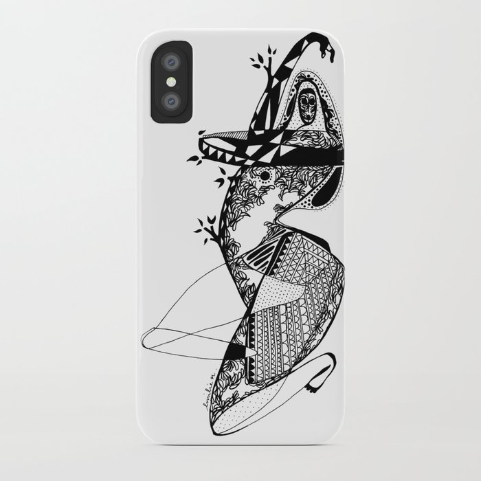 Dance with me - Emilie Record iPhone Case