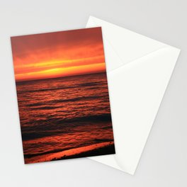 Warm reception on a cold morning. Stationery Cards