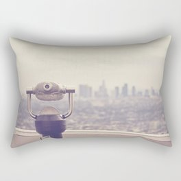 The View: Los Angeles Rectangular Pillow