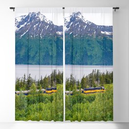 Alaska Passenger Train - Bird Point Blackout Curtain
