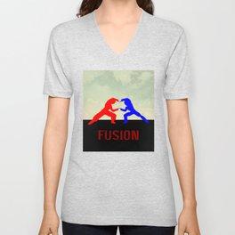 Fusion Unisex V-Neck