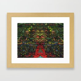 Ancient Forest of Knowledge Framed Art Print