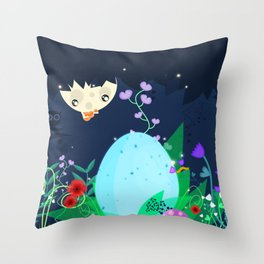 Is it a pixie or a dragon ? Throw Pillow