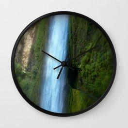Tunnel Falls Wall Clock
