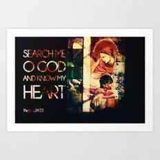 Search Me... Art Print