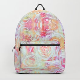Pink Posy Backpack
