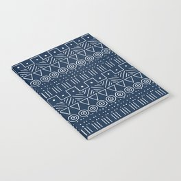 Mudcloth Style 1 in Navy Notebook