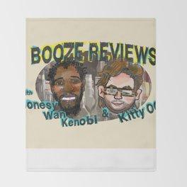 BOOZE REVIEWS Throw Blanket