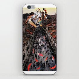Street party iPhone Skin