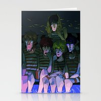 iwatobi Stationery Cards featuring FREE! IWATOBI SWIM CLUB again by Frank Odlaws