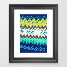 Rad Pattern Framed Art Print