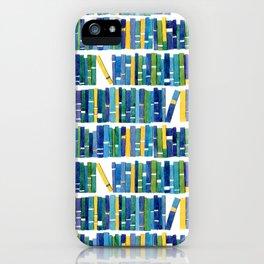 Art bookcase iPhone Case