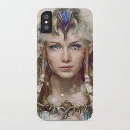 Epic Princess Zelda from Legend of Zelda Painting iPhone Case