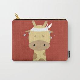 Giraffe - Running Carry-All Pouch