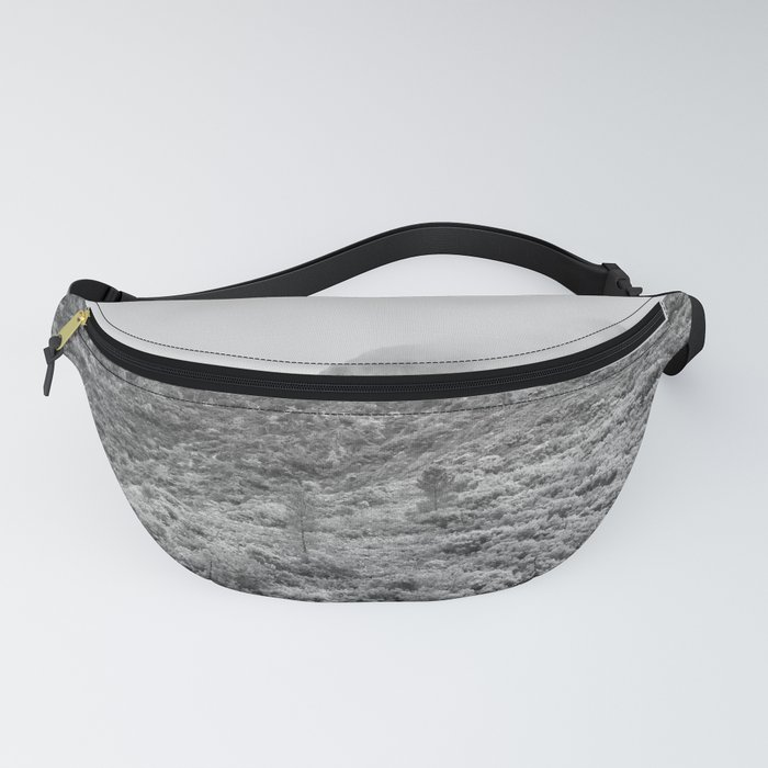 Fog mountains Fanny Pack
