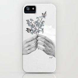 Buckeye Butterly Florals by Andrea Lauren iPhone 11 case