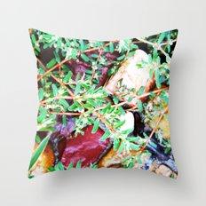 Forgotten Garden 2 Throw Pillow