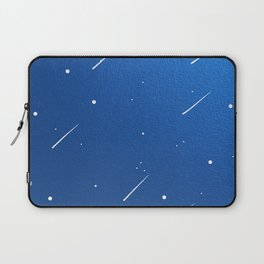 Shooting Stars in a Clear Blue Sky Laptop Sleeve
