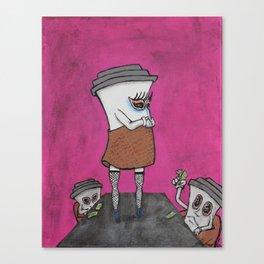 Two Drink Minimum Canvas Print
