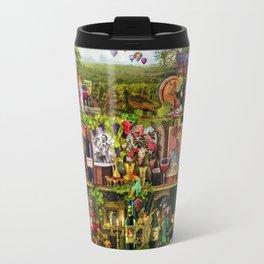 The Poetry of Wine Travel Mug
