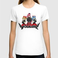 vocaloid T-shirts featuring Vocaloid / Babymetal by Tigers and Daises (LadyBeemer)