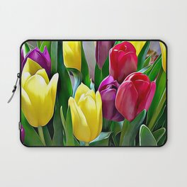 Tulips From Amsterdam Laptop Sleeve