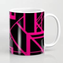 Roadway Of Abstraction - Interstate Abstract Path Coffee Mug