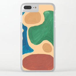 16   Imperfection   190325 Abstract Shapes Clear iPhone Case