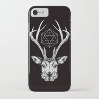 stag iPhone & iPod Cases featuring Stag by Andy Christofi
