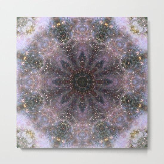 Space Mandala no16 Metal Print