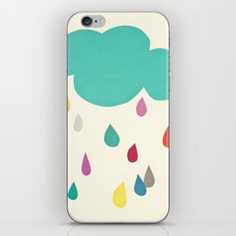 Sunshine and Showers iPhone Skin