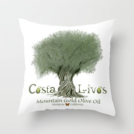 CostaLivos  Throw Pillow