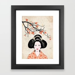 Handmaiden Framed Art Print