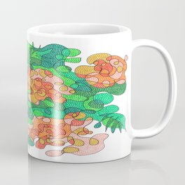 Abstract Floral #4 Coffee Mug