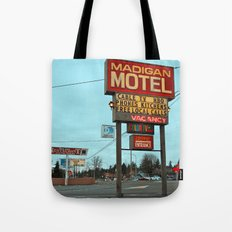 Old time motel sign Tote Bag