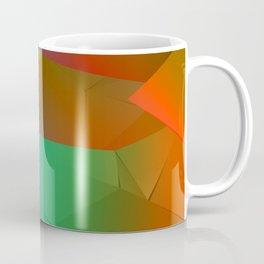 Rainbow Origami Coffee Mug