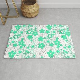 Paper flowers 2 Rug