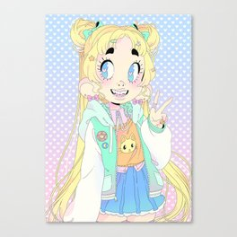 Usagi Tsukino Canvas Print