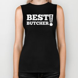 Best Butcher Ever Biker Tank