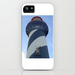 saint augustine lighthouse photography iPhone Case