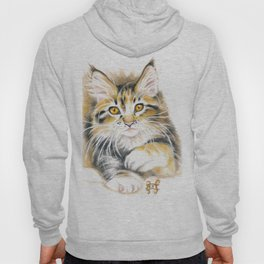 Maine Coon Kitty Hoody