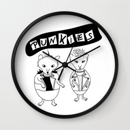 Punkies Wall Clock