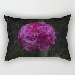 Boho Garden by Night Rectangular Pillow
