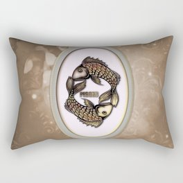 Zodiac sign pisces Rectangular Pillow