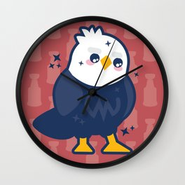 Capitalize On This Wall Clock