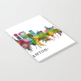 Binghamton New York Skyline Notebook